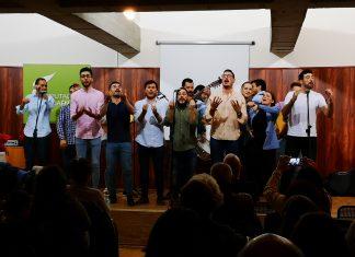 Actuación de la Chirigota de Arjona.