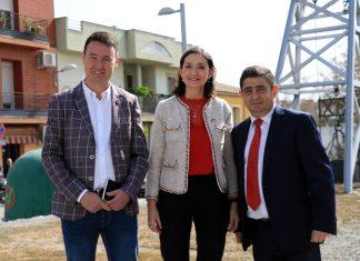 Daniel Campos, Reyes Maroto y Francisco Reyes.