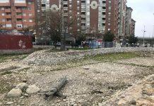 Estado actual del estanque del Bulevar.