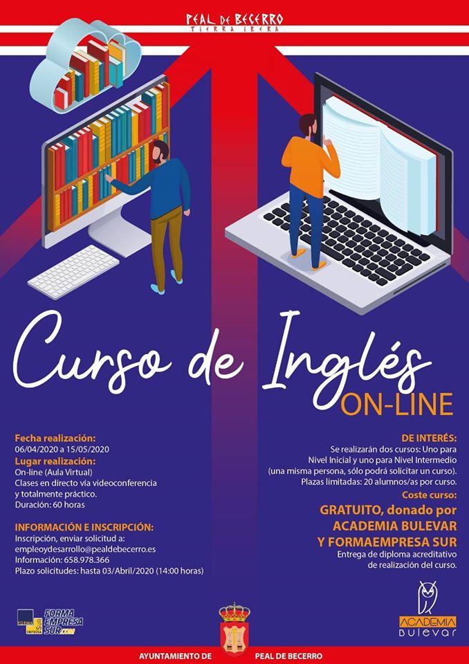 El Ayuntamiento de Peal ofrece dos cursos digitales gratuitos de inglés -  Hora Jaén