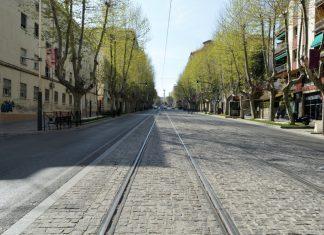 Calle de Paseo de la Estación.