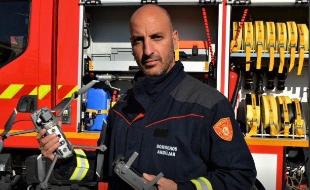 Juan José, bombero de Andújar. FOTO: HoraJaén