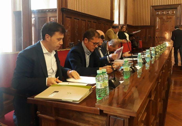 Ildefonso Ruiz en el pleno de Diputación