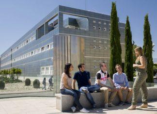 Imagen de archivo de alumnos de la Universidad de Jaén.