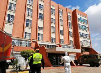 Residencia mixta geriátrica de Linares. FOTO: Linares