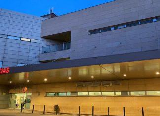 Urgencias de hospital de Jaén.