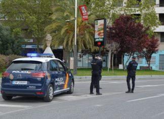 Control de Policía Nacional. FOTO: HoraJaen