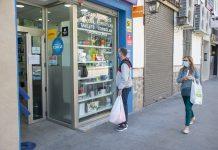 Escaparate de una tienda de Jaén. FOTO: Peragón