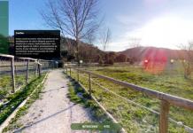 Sendero virtual de El Peralejo en Sierra Mágina.