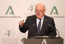 Jesús Aguirre, consejo de Salud y Familias de la Junta de Andalucía.