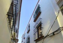 Calle donde se han producido los hechos. FOTO: Peragón