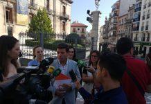 Ildefonso Ruiz, portavoz de Ciudadanos en la Diputación.