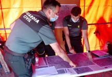 Dispositivo de búsqueda de la Guardia Civil del hombre desaparecido en Arjona. FOTO: Subdelegación del Gobierno