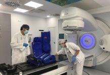 Acelerador Lineal del Hospital Médico-Quirúrgico de Jaén.