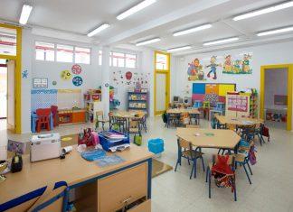 Aula de infantil en un colegio de Andalucía.