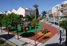 Parque infantil de Úbeda.