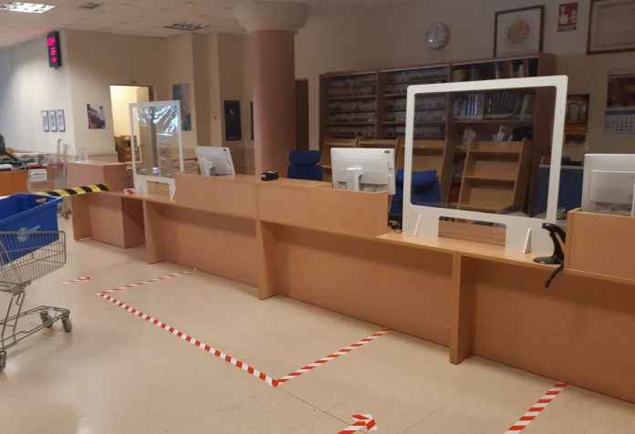 Biblioteca de la Universidad de Jaén.