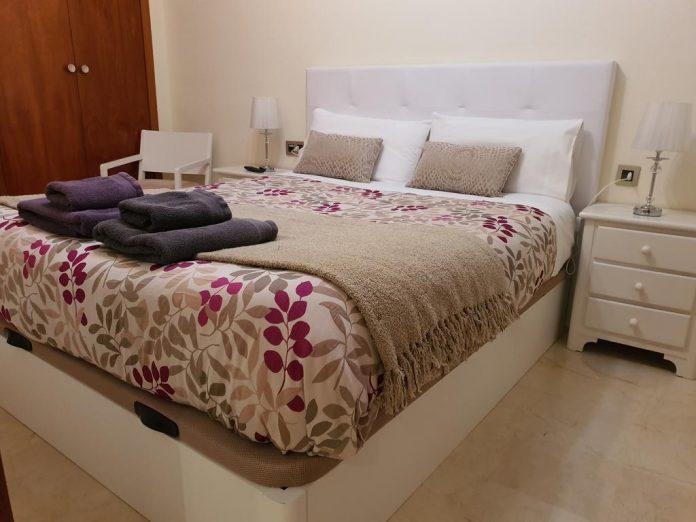 Habitación de hotel en Jaén.