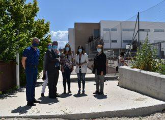 Visita al instituto Santa Teresa.