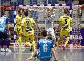 Partido de los playoffs por el título celebrado en Málaga.
