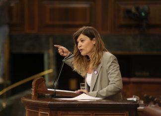 Laura Berja, diputada jienenses en el Congreso de los Diputados.