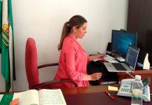 Raquel Morales, delegada de Turismo y Justicia.