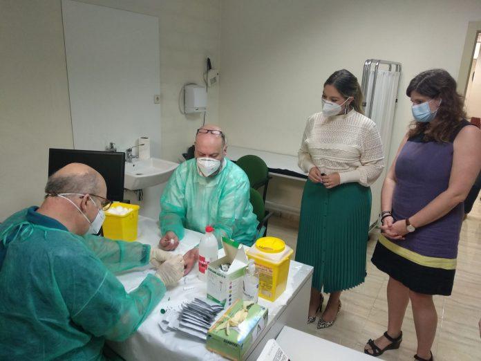 Primeros test a los funcionarios de los juzgados de Jaén.