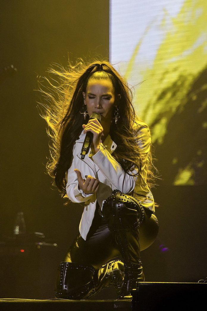 India Martinez, en concierto.