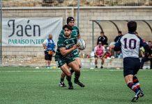 Emiliano Gómez, en un partido del Jaén Rugby. FOTO: Nerina Iantorno