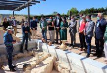 Inauguración del arqueódromo de Puente Tablas.