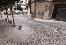 Lluvia de verano en Jaén. FOTO: HoraJaén
