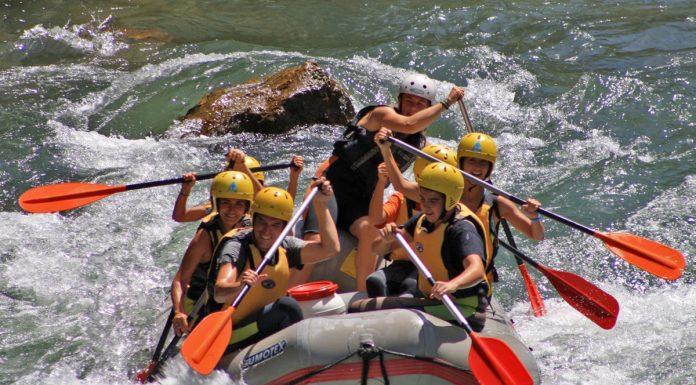 Rafting en el Alto Guadalquivir.