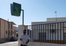 Miguel García, alcalde de Villargordo, ha presentado una denuncia en el cuartel de la Guardia Civil.