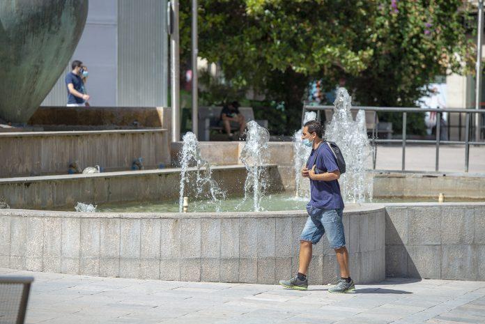 Calor durante el mes de agosto con altas temperaturas. FOTO: Peragón