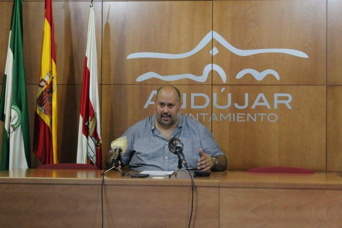 Juan Francisco Cazalilla, concejal de Medio Ambiente de Andújar.