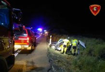 Accidente de tráfico en Zaragoza donde ha fallecido una joven de Baeza de 30 años.