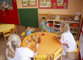 Inicio curso escolar 2020/2021 en escuela infantil Los Remedios de Jaén. FOTO: Peragón