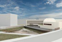 Imagen del futuro conservatorio de música de Jaén.