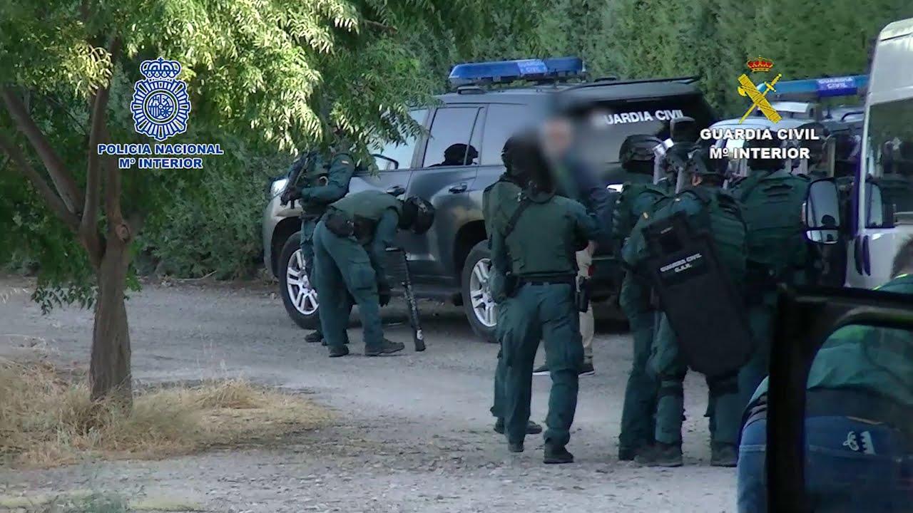 Desarticulada en Jaén y Málaga una violenta organización criminal de drogas 2